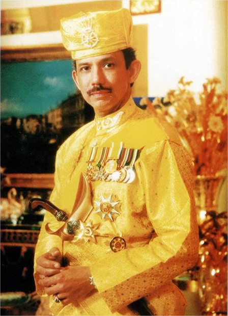 Hassanal bolkiah wealth