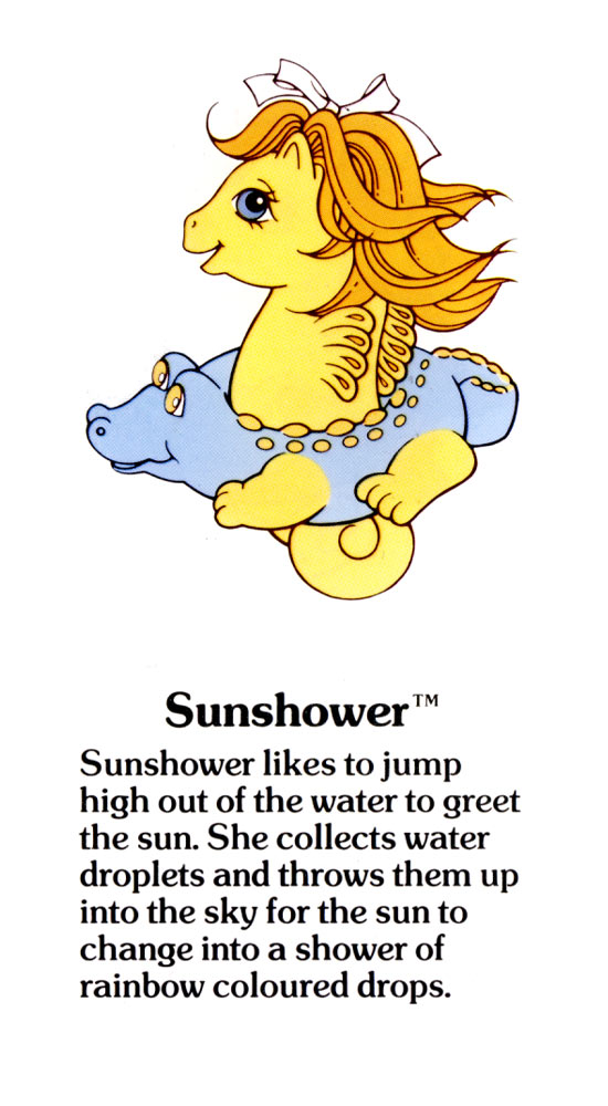 My Little Pony Fact File Sunshower # Sunshower Mlp_175524