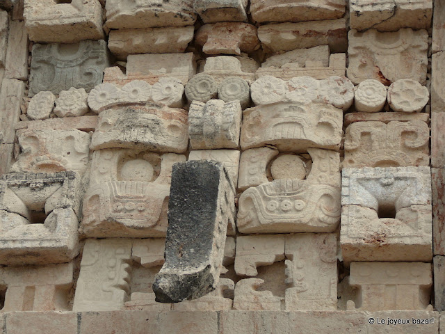 Mexique - site maya  d'Uxmal