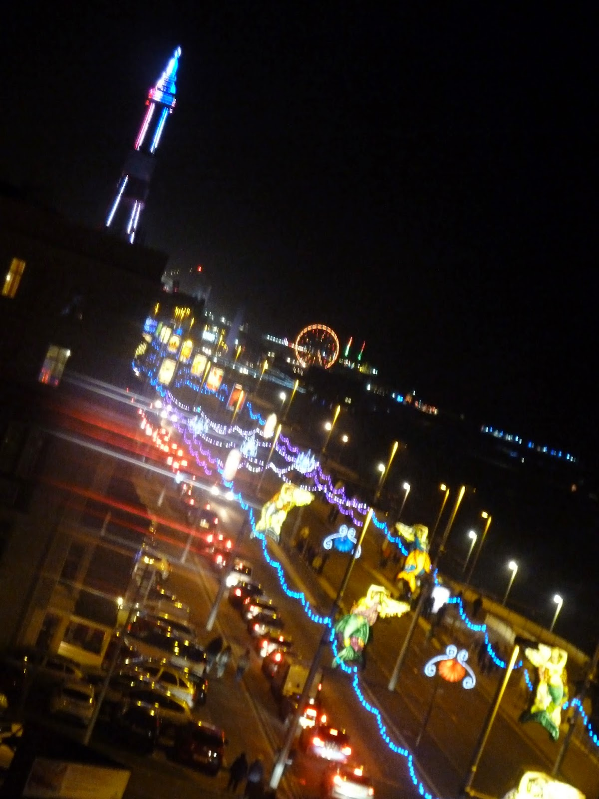 Blackpool Illuminations Promenade