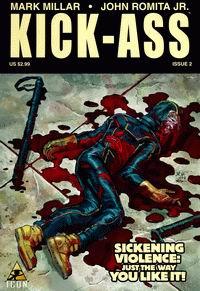 Cover of Kick-Ass #2 Comic