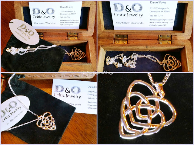 Bringing Out My Irish with D&O Celtic Jewelry