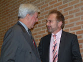 Con Mario Vargas Llosa, Premio Nobel de Literatura