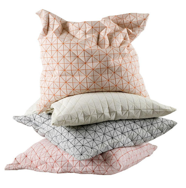 Mika Barr Geo pillows, blog by et aussi