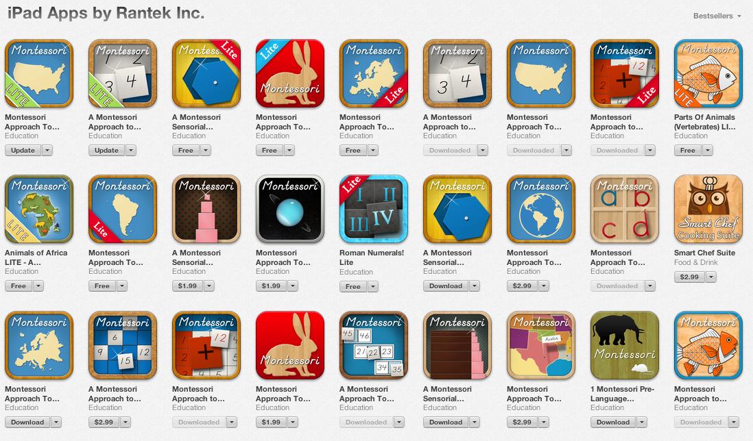 Digital kindergarten free codes for rantek apps available - Kinderapps gratis ...