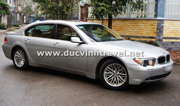 Cho thuê xe BMW 745Li Vip