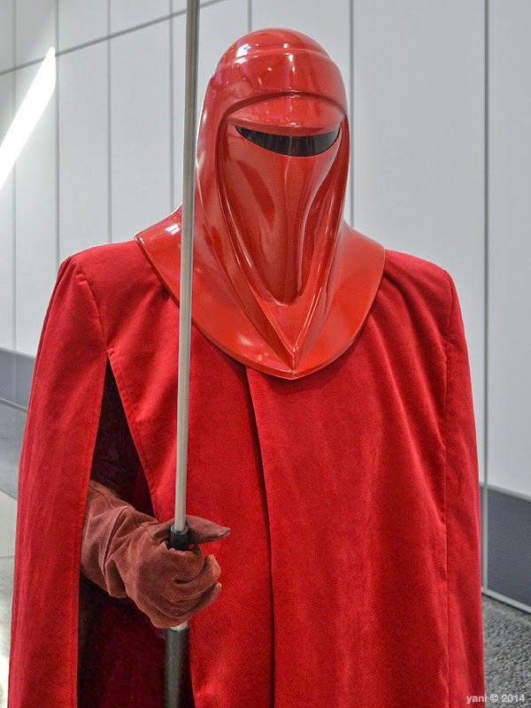 oz comic-con adelaide - imperial guard