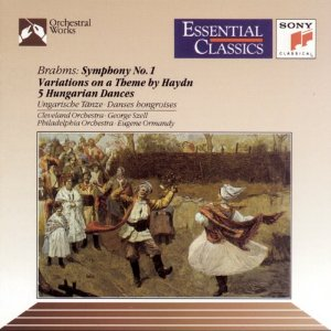 Brahms Symphony no.1 George Szell Cleveland Orchestra