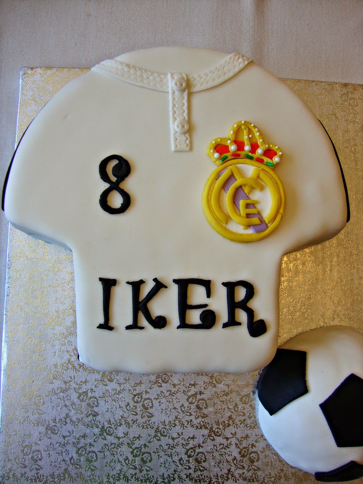 Tarta Real Madrid 2015