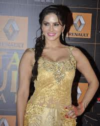 Sunny Leone Hot and sexy in Golden Gown