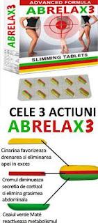 abrelax3 compozitie comprimante abdomen plat