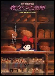 Poster original de Nicky, aprendiz de bruja (1995), de Hayao Miyazaki