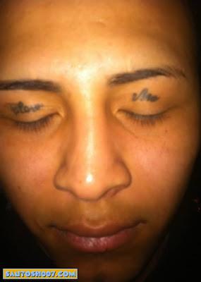 crazy Eyelid Tattoos