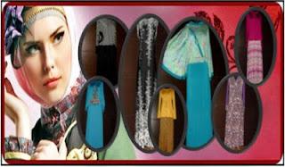 BUSANA BAJU MUSLIM LEBARAN TREND 2013 Aneka Stelan Gamis Jilbab Koko Mukena Terbaru Edisi Idul Fitri 2013