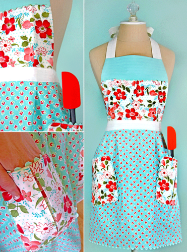 Becky Cooks Lightly: 30 Free Vintage Apron Patterns