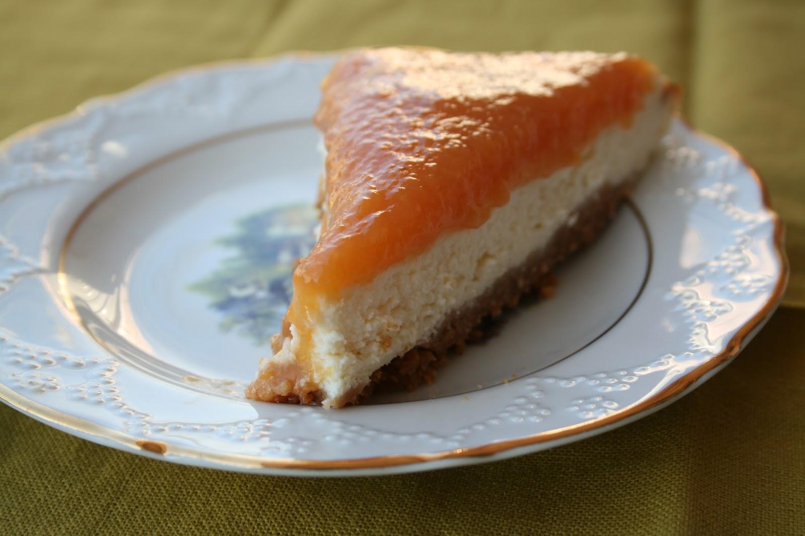 Şeftalili çiz kek tarifi