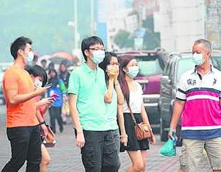 Jerebu di Malaysia kian buruk