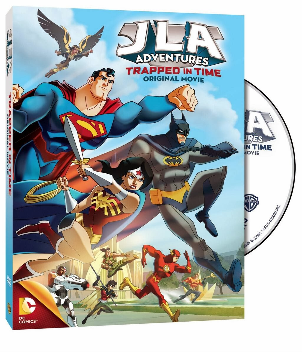 "Target-Exclusive ""JLA Adventures: Trapped In Time"" Movie Hitting DVD January 21st, 2014"