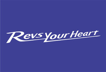 "Download Logo Vektor ""Revs Your Heart"" YAMAHA Format CorelDraw 