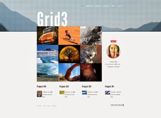 Grid3 Responsive Joomla Template