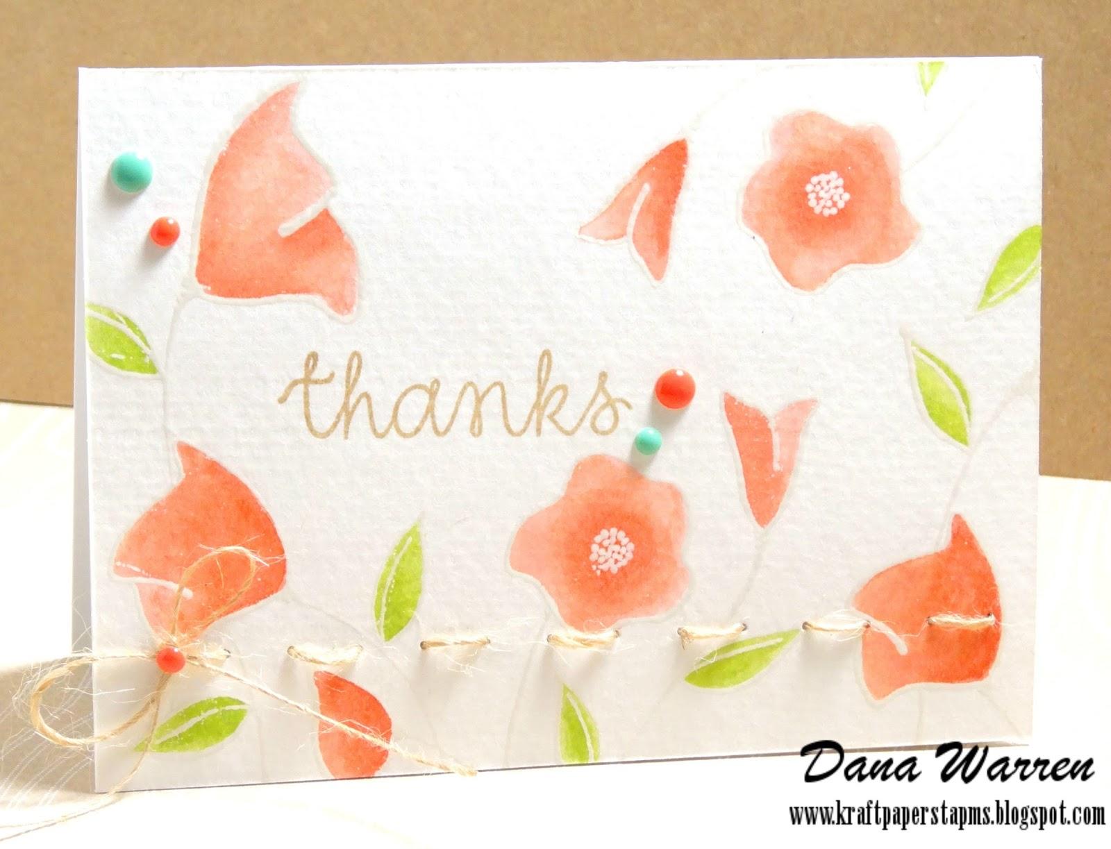 Dana Warren - Kraft Paper Stamps