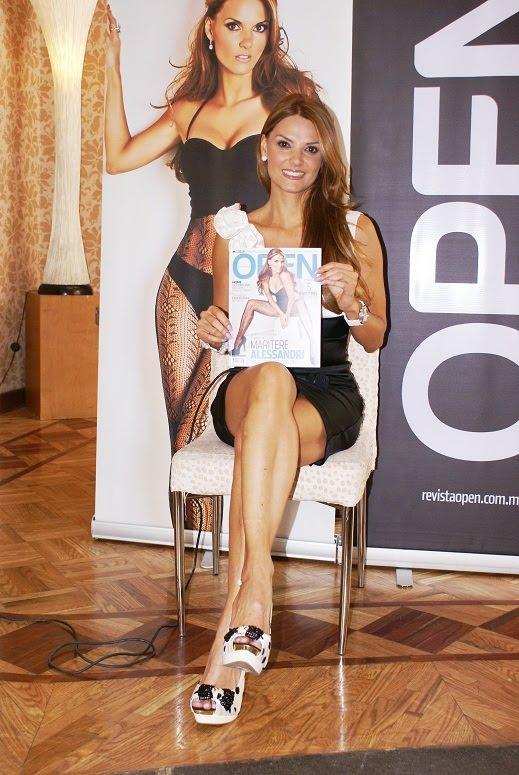 Maritere Alessandrini seduce a sus fans