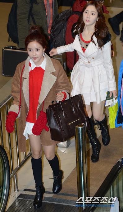 Foto T-ara di Bandara Gimpo Menuju Jepang