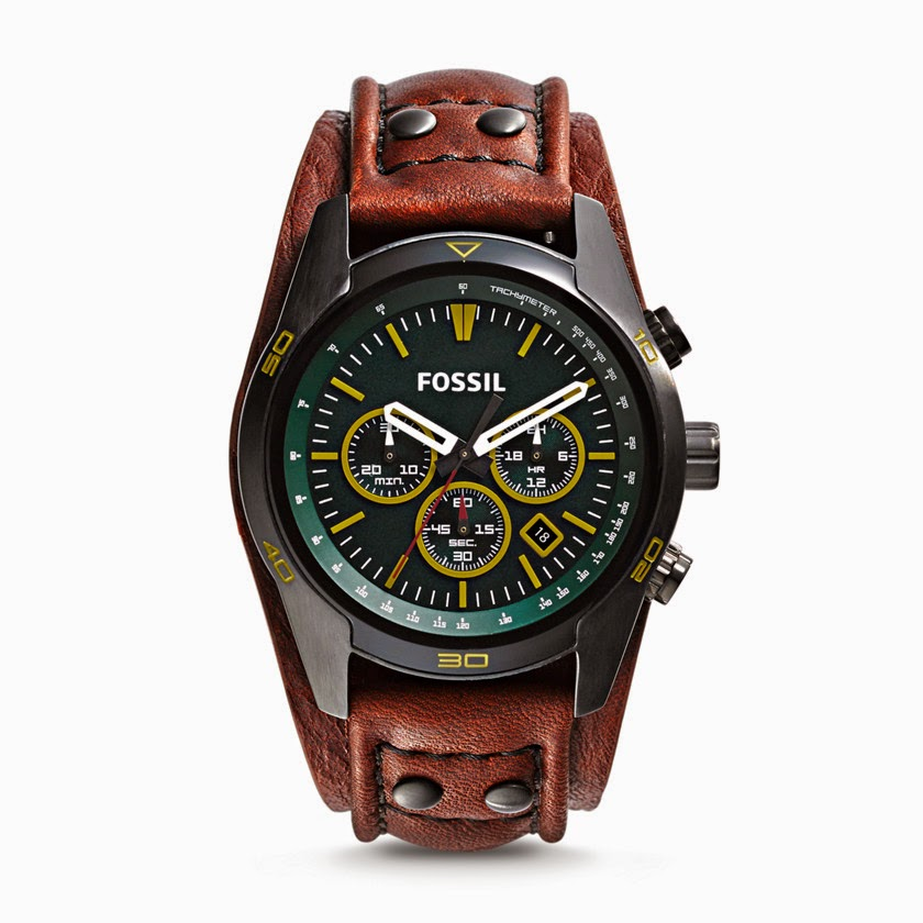 Fossil Coachman Brown CH2923