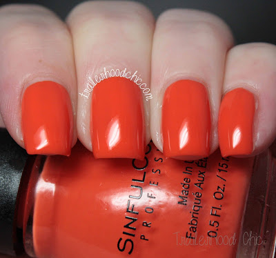 sinful colors a class act review swatch feel the vibe