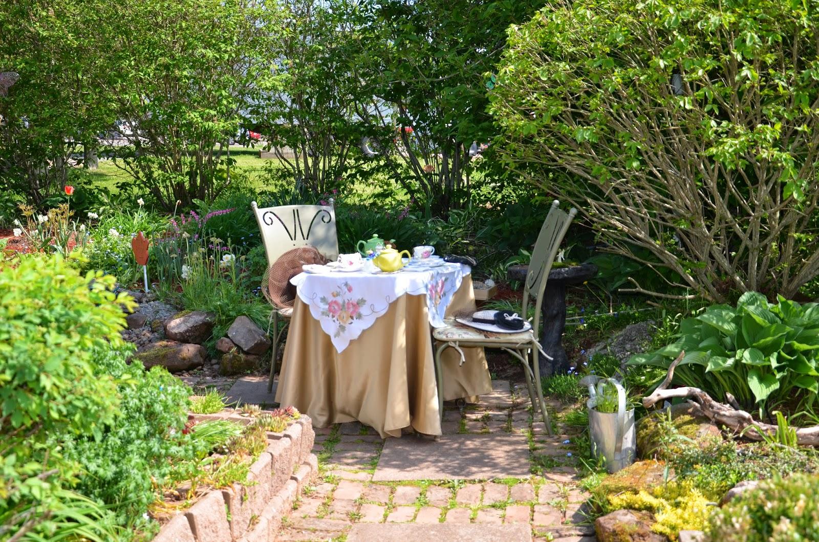 Grandma 39 S Afternoons Summer Garden Tea