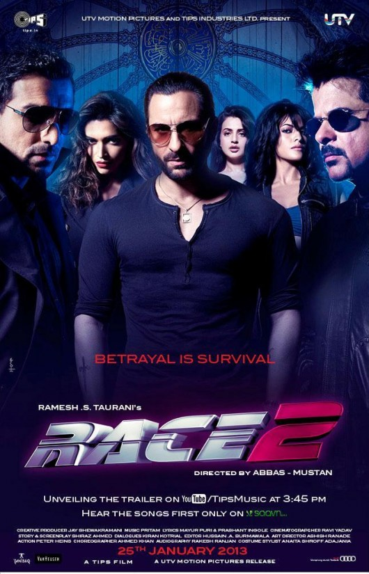 Race2 new film cover page