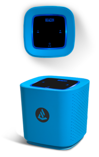 beacon+speaker 2 Portable Bluetooth Speakers for Teens and College Students