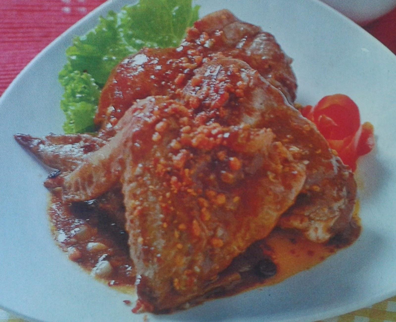 Resep Ayam Goreng Bumbu Cokelat
