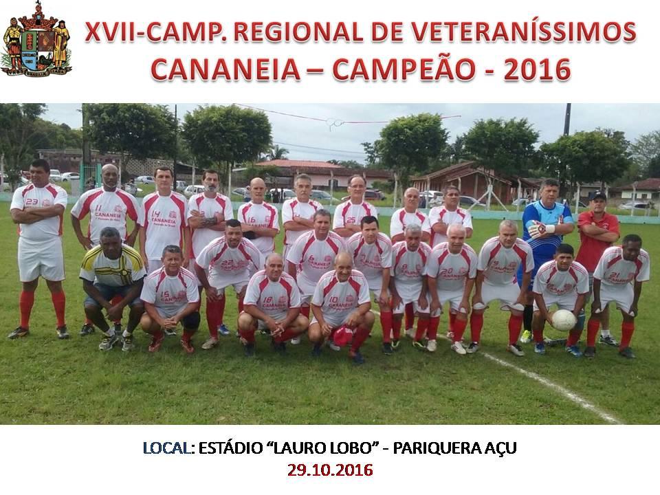 CANANEIA - CAMPEÃO