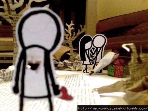 amor nao correspondido a dor é insuportavel, a angustia é muito ...