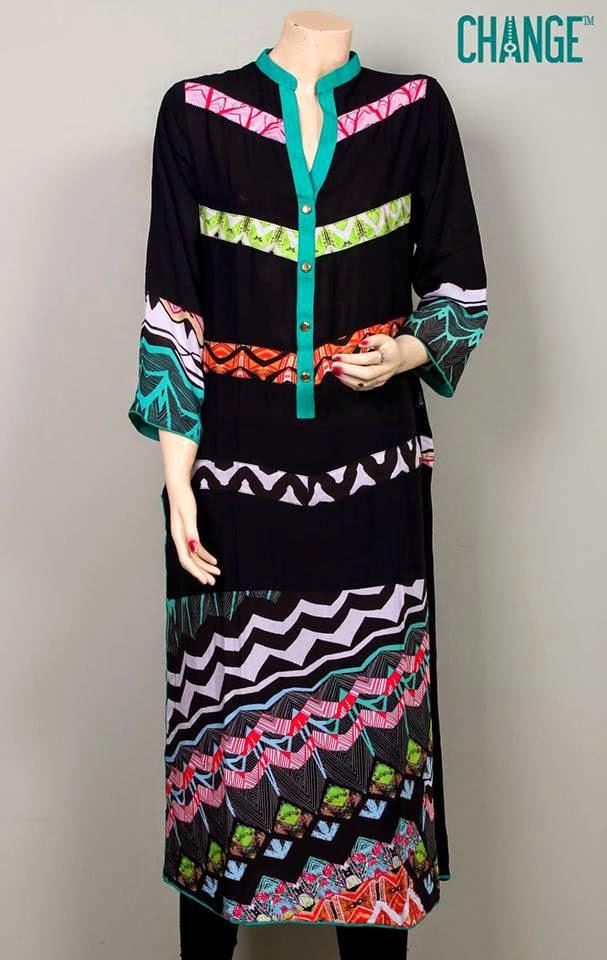 Change Exclusive Summer Girls Kurtis 2014 | Change Clothing Summer