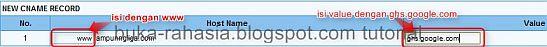 blogger custom domain