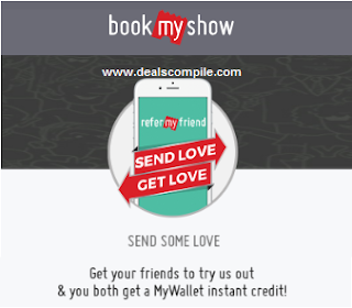 Free BookMyShow  Rs.100 in wallet