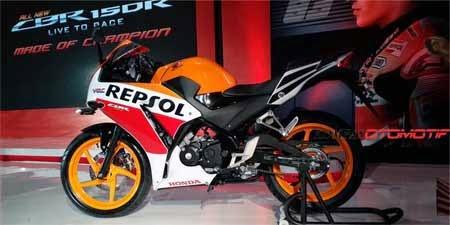 gambar motor Honda CBR150R Repsol