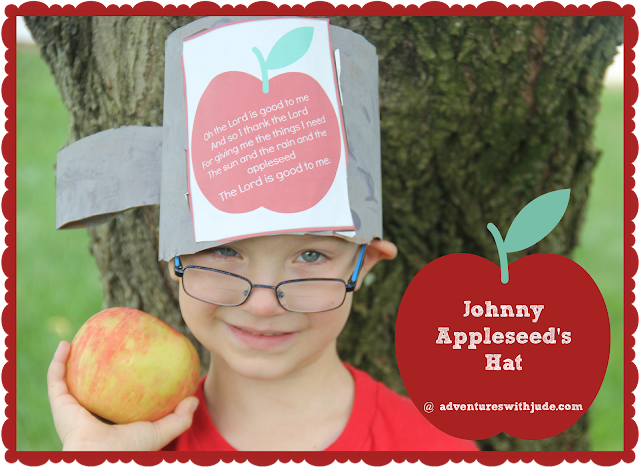 Johnny Appleseed Mini Unit Study (free printable)