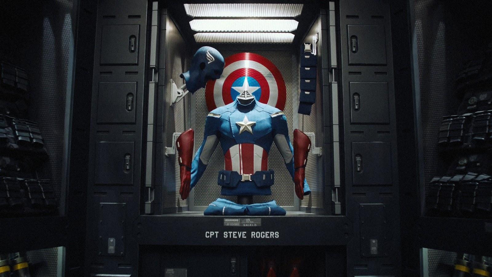 Kaptan Amerika Marvelın Havalı Kalkanı