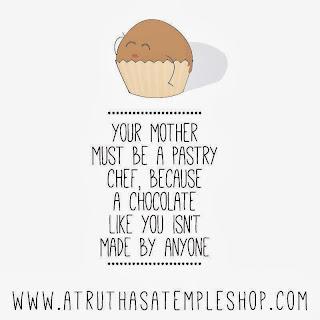 Tu madre debe ser pastelera, un bombón como tu no lo hace cualquiera!