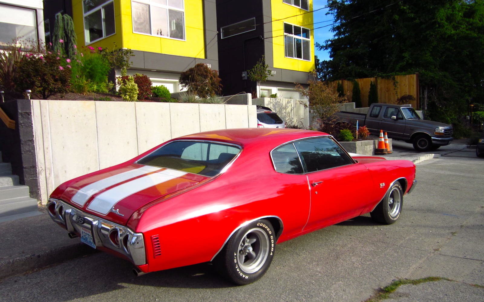 the street peep 1971 chevrolet chevelle ss 454. Black Bedroom Furniture Sets. Home Design Ideas