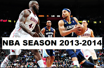 Latest scores and schedules of the NBA season 2013-2014