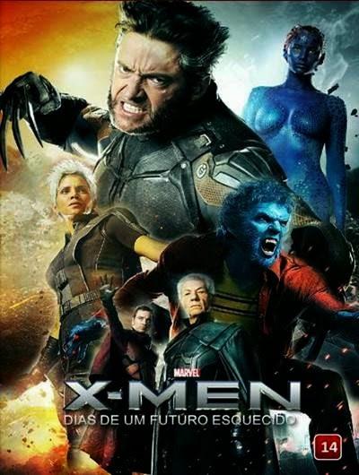 X-Men Dias de um Futuro Esquecido AVI DVDRip Dual Audio + WEBRip 720p e 1080p