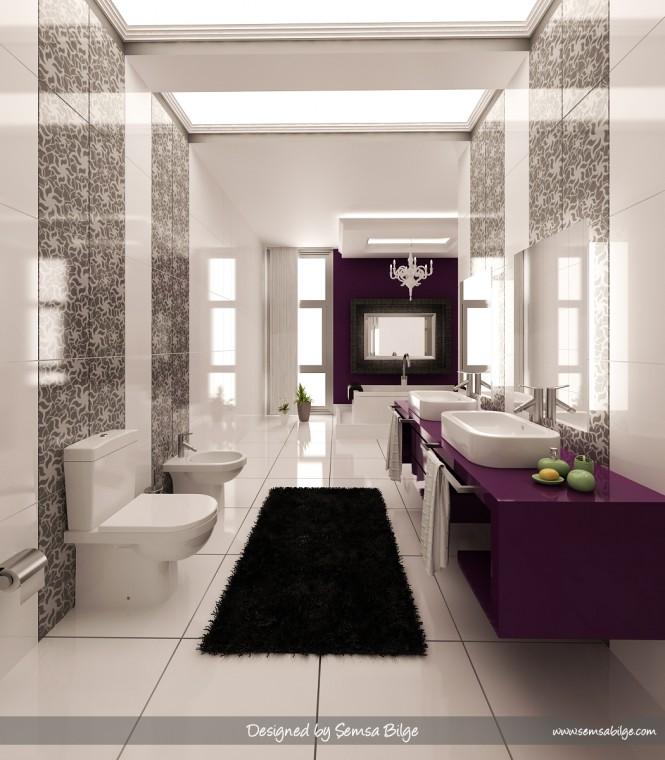 Lamparas Para Baño Turco:de Interiores y Casa: Diseños únicos de baño por Daymon Studio y de