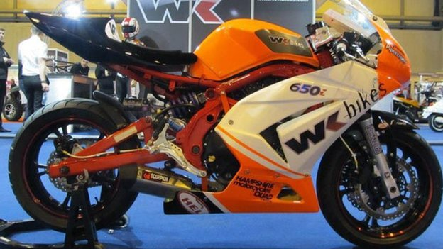WK Bikes and CF Moto have teamed up to bring out the first Chinese bike to race in the 2013 Isle of Man TT to be ridden by Australian rider David Johnson.