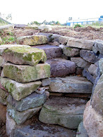 Building a Dry Stone Wall and Stone Stairs