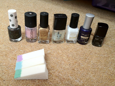 topshop, GOSH, Barry M, Barry M nail paint, ELF, E.L.F., eyes lips face, collection 200, MUA, M.U.A.