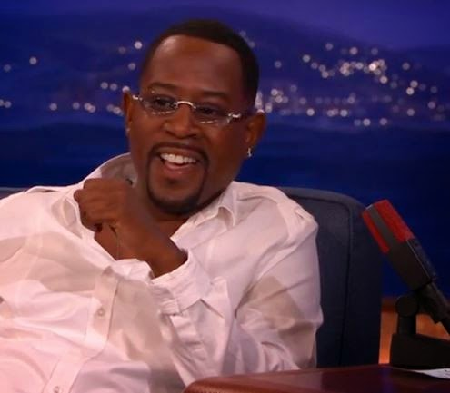 Martin Lawrence sits down with Conan and talk about bad boys 3 movie